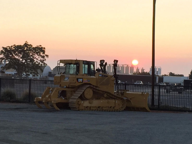 sunrise-dozer