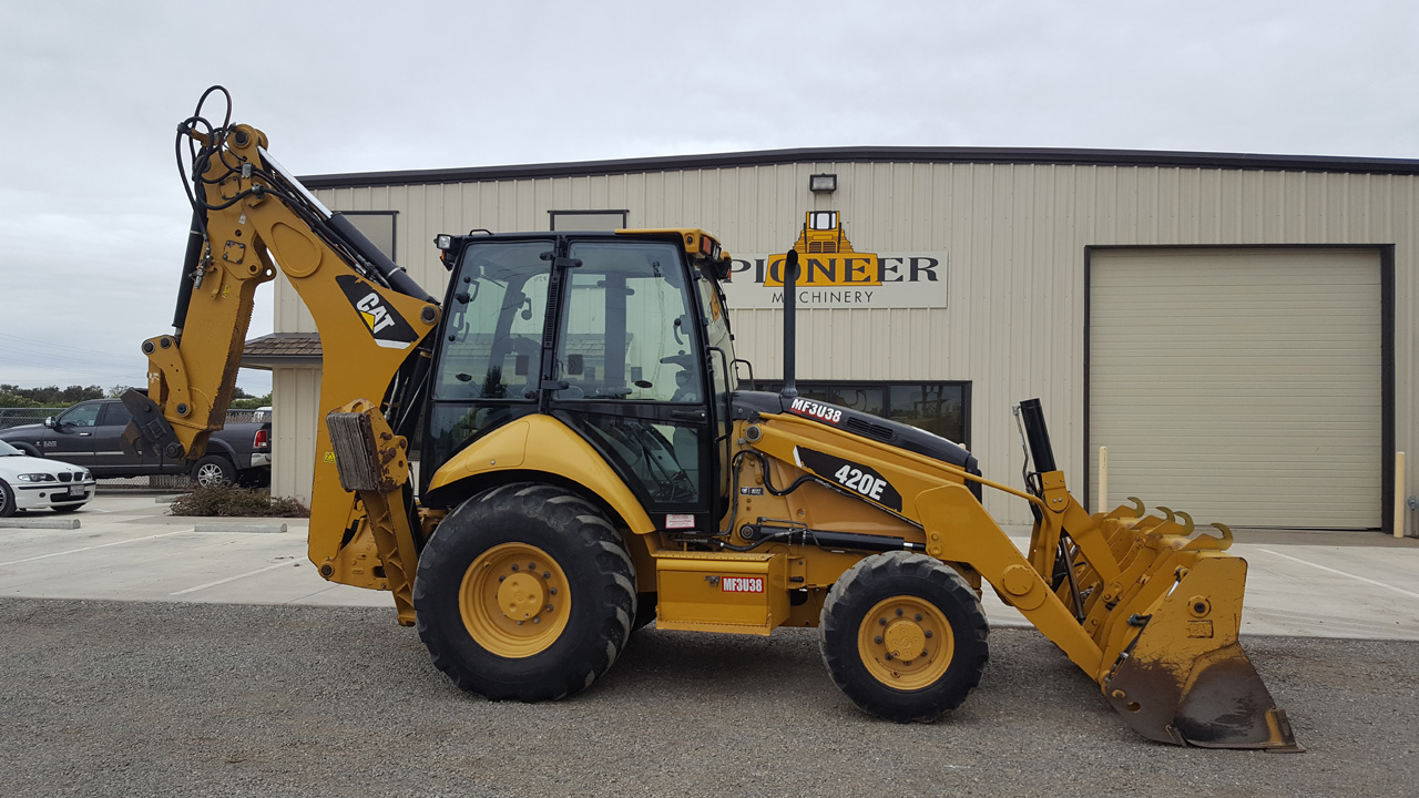 2007 Cat 430e For Sale Woodland Ca Pioneer Machinery