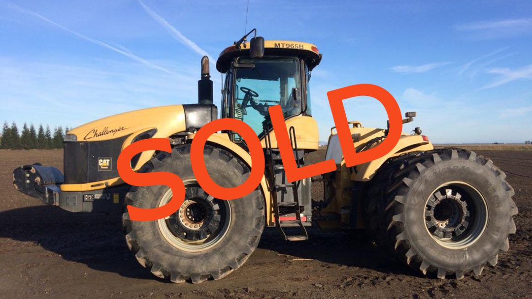 SOLD – 2008 CHALLENGER MT965B