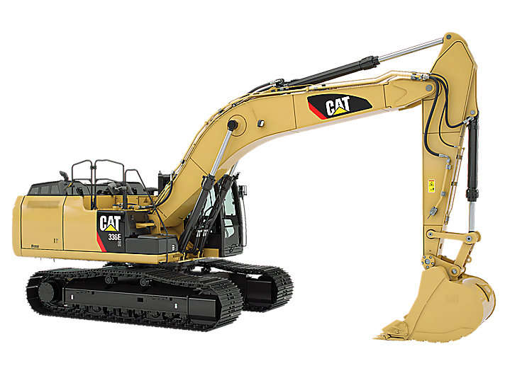 Excavators for rent.